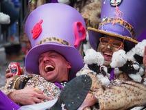 Aalst Carnaval 2017 Royaltyfri Bild