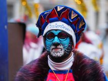 Aalst Carnaval 2017. royalty free stock photo