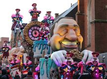 Aalst Carnival Parade Float 2018 Royalty Free Stock Photos