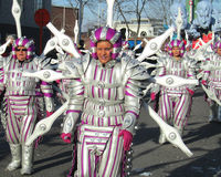 Aalst Karneval 2012 Lizenzfreie Stockfotos