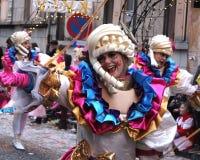 Aalst karneval 2017 Arkivbild