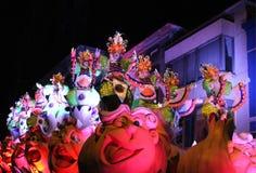 Aalst karneval 2017 Royaltyfri Fotografi