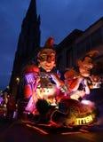 Aalst karneval 2017 Royaltyfri Foto