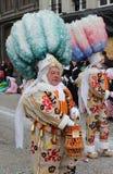 Aalsterse Gilles, Karnevals-Festlichkeiten 2019 lizenzfreie stockbilder