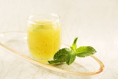 Aam Panna or Salted Green Mango Juice. Stock Photo