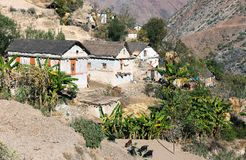 Aam village - beautiful village in western Nepal Royalty Free Stock Photos