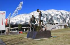 AAMI-Park Melbourne Lizenzfreies Stockfoto