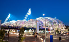 AAMI Park in Melbourne Australia. Was built in 2010 and is used for soccer and rugby games Royalty Free Stock Photo