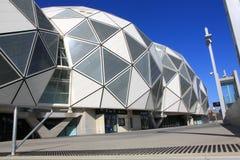 AAMI parkerar Melbourne  arkivbilder