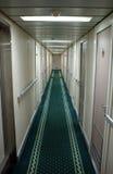 Aan boord van cruiseschip Stock Afbeelding