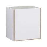 Aan de muur bevestigd kabinet voor gebruik in badkamerss en keukens Royalty-vrije Stock Fotografie