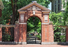 Aan Harvard Stock Foto