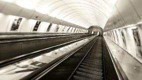 Aan het eind van tunnel Royalty-vrije Stock Foto
