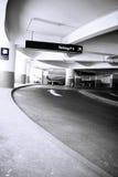 Aan het parkeerterrein Royalty-vrije Stock Foto