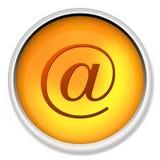 Aan het tarief, @, illustratie, bij, Web, breed, wereld, bij pari, computersleutel, sleutel, knoop, aansluting, c. Royalty-vrije Stock Foto
