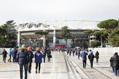 Aan stadioolimpico Royalty-vrije Stock Fotografie