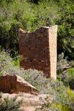 Aanasazi-Ruinen bei Hovenweep Stockfotos
