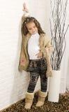 Aanbiddelijk Afrikaans meisje Royalty-vrije Stock Fotografie