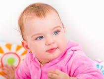 Aanbiddelijk babymeisje Royalty-vrije Stock Afbeeldingen