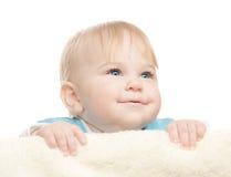 Aanbiddelijk gelukkig kind Stock Afbeelding