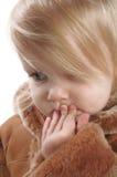 Aanbiddelijk jong meisje royalty-vrije stock foto