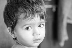 Aanbiddelijk kind Stock Foto
