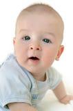 Aanbiddelijk portret van een leuke baby stock foto