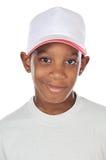 Aanbiddelijke Afrikaanse jongen Stock Afbeelding