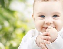 Aanbiddelijke baby Stock Afbeelding