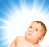 Aanbiddelijke baby royalty-vrije stock afbeeldingen