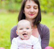 Aanbiddelijke baby Stock Fotografie