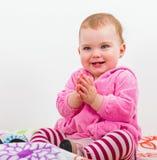 Aanbiddelijke baby Royalty-vrije Stock Afbeelding