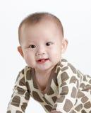 Aanbiddelijke baby Stock Foto