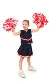 Aanbiddelijke Cheerleader Stock Fotografie