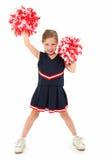 Aanbiddelijke Cheerleader Royalty-vrije Stock Foto's