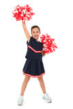 Aanbiddelijke Cheerleader Royalty-vrije Stock Foto
