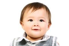 Aanbiddelijke gelukkige baby. royalty-vrije stock afbeeldingen