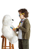 Aanbiddelijke kind arts Royalty-vrije Stock Afbeelding