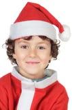 Aanbiddelijke kleine santa Stock Fotografie