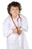 Aanbiddelijke toekomstige arts aanbiddelijke toekomstige arts   Stock Foto's