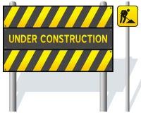 In aanbouw Barrière vector illustratie