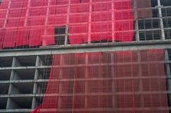 In aanbouw - blokken stock afbeelding
