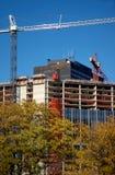 In aanbouw de bouw Stock Afbeelding