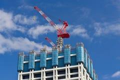 In aanbouw de bouw. Stock Afbeelding