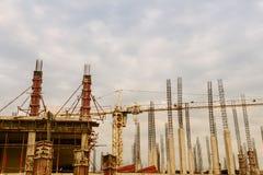 In aanbouw de bouw stock foto
