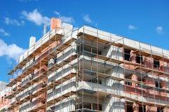 In aanbouw de bouw Royalty-vrije Stock Foto's