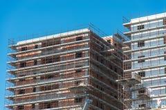 In aanbouw de bouw Stock Afbeeldingen