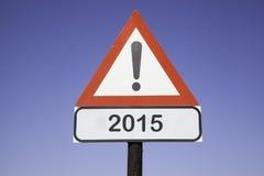 Aandacht 2015 Stock Foto's