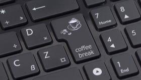 Aandeelteken op toetsenbord Stock Afbeelding
