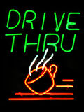 Aandrijving-Drive-Thru Koffie Royalty-vrije Stock Foto